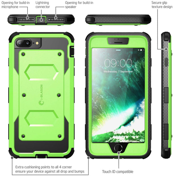 iPhone 8 Plus | 7 Plus Armorbox Case-Green