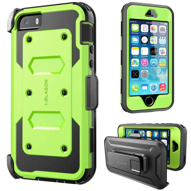 iPhone 5 | 5S Armorbox Case-Green