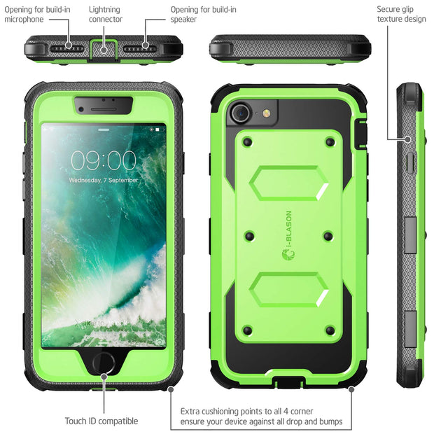 iPhone SE (2020) Armorbox Case-Green