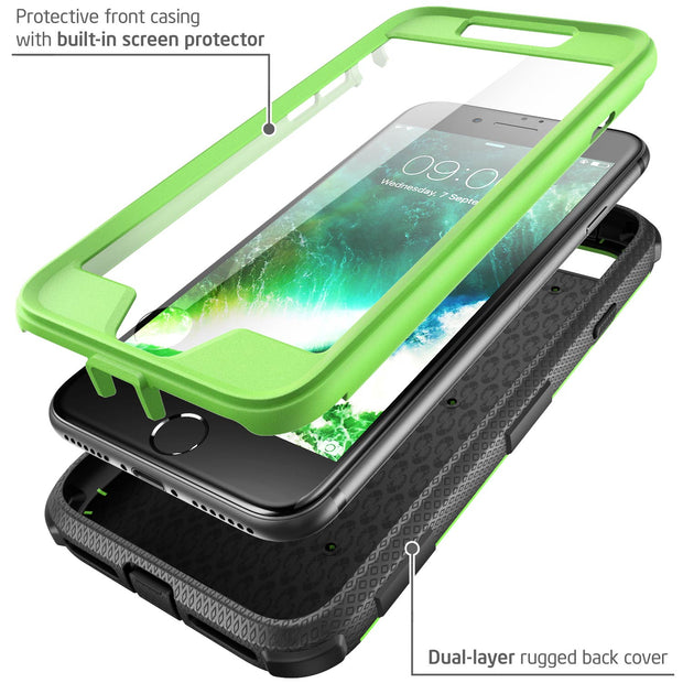 iPhone 8 | 7 Armorbox Case-Green