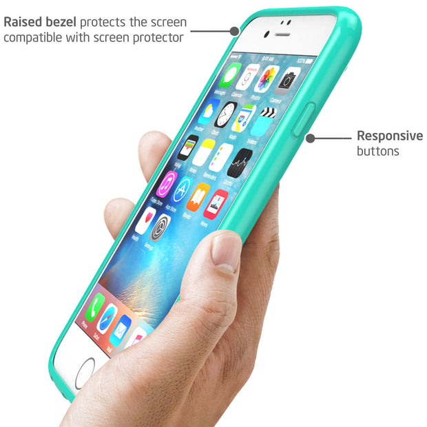 iPhone 6S Plus | 6 Plus Halo Case-Green