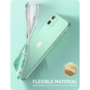 iPhone 11 Cosmo Lite Case-Marble Green