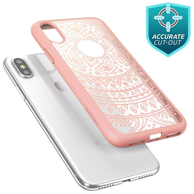 iPhone XS | X Halo Case-Rose Gold