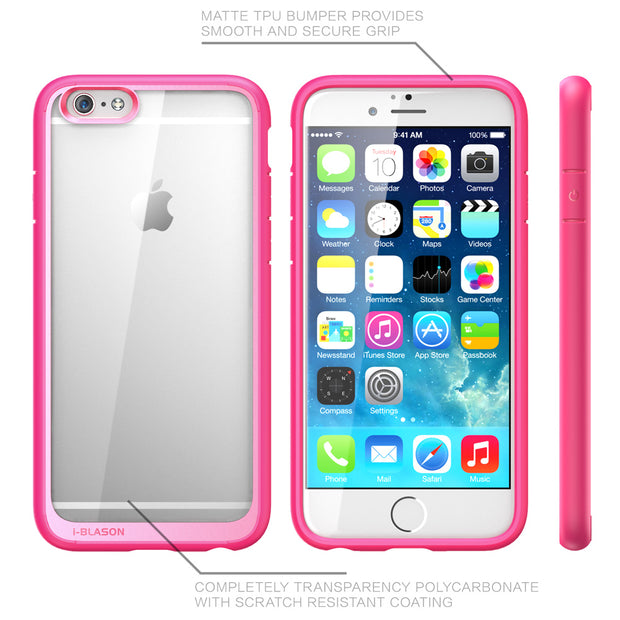 iPhone 6S | 6 Halo Case-Pink