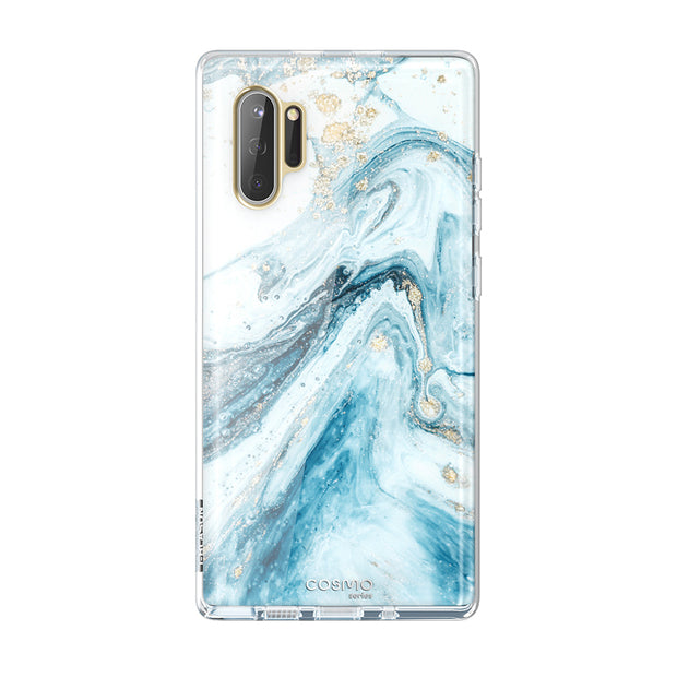 Samsung Galaxy Note10 Cosmo Case-Marble Blue