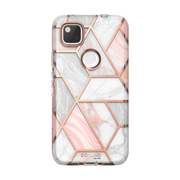 Google Pixel 4a Cosmo Case-Marble Pink