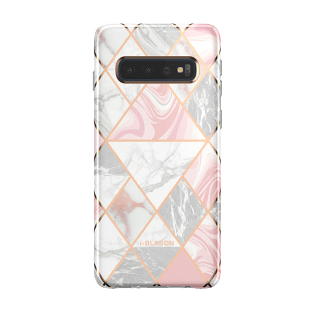 Samsung Galaxy S10 Cosmo Lite Case-Marble Pink