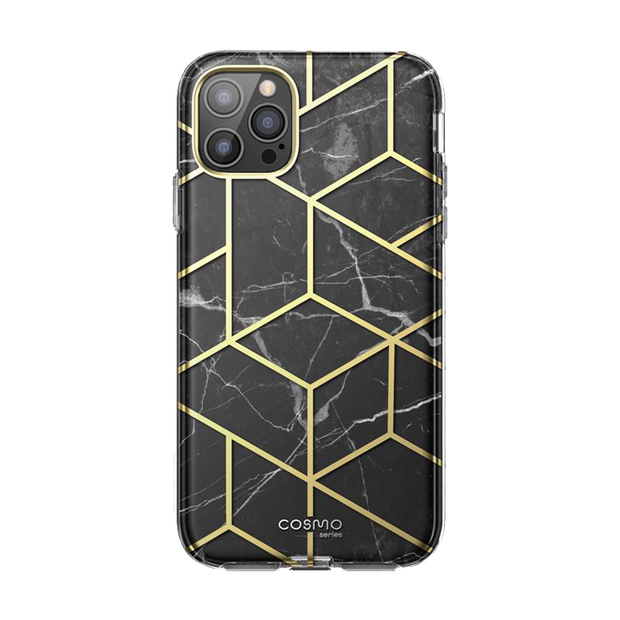 iPhone 12 Pro Cosmo Case-Marble Black