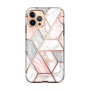 iPhone 12 Pro Cosmo Case-Marble Pink