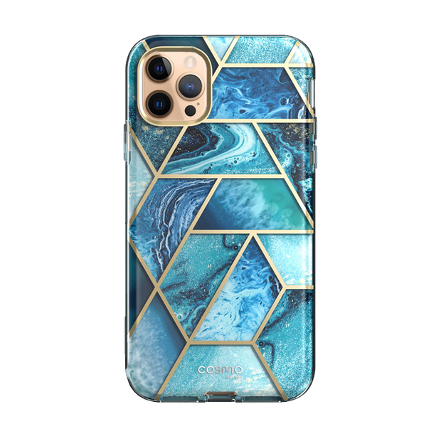 iPhone 12 Pro Cosmo Case-Ocean Blue