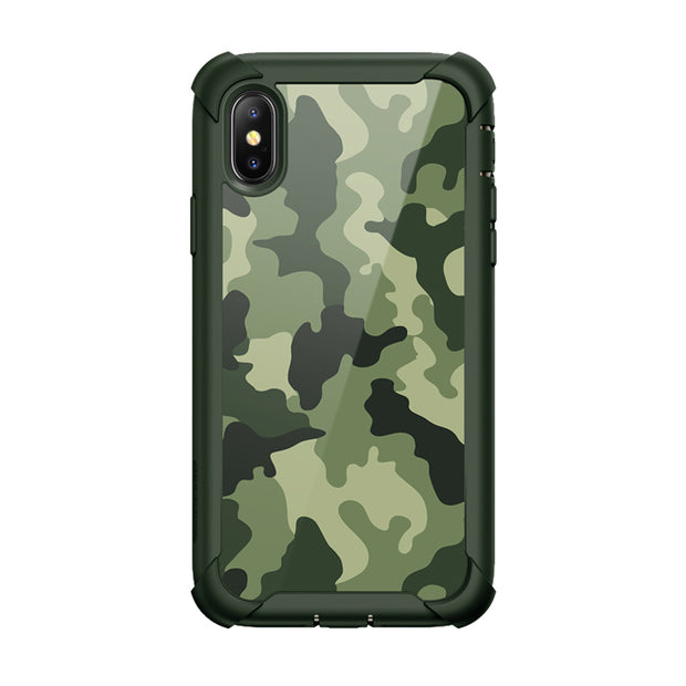 iPhone XS | X Ares Case-Green Camouflage