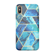 iPhone XS | X Cosmo Lite Case-Ocean Blue