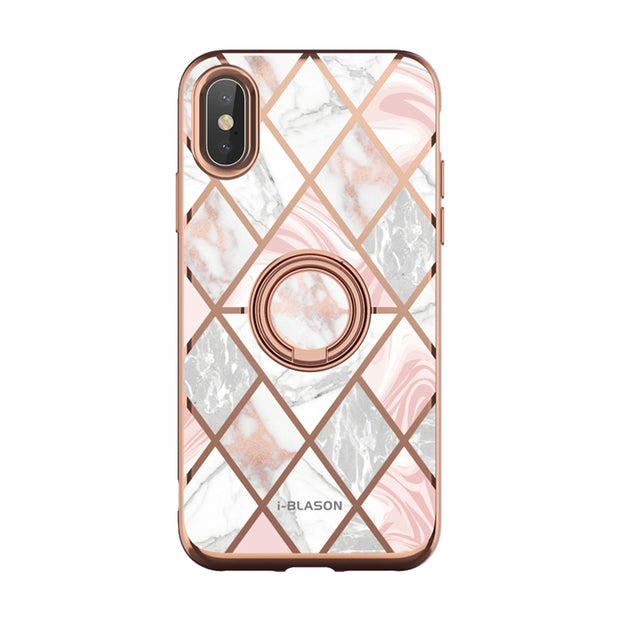iPhone XS | X Cosmo Snap Case-Marble Pink