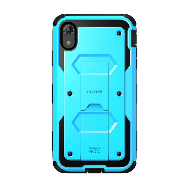 iPhone XR Armorbox Case-Blue