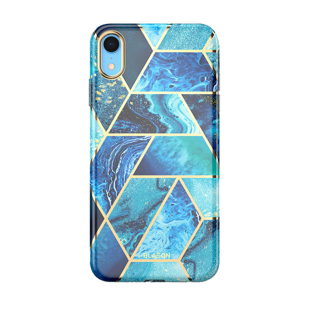 iPhone XR Cosmo Case-Ocean Blue