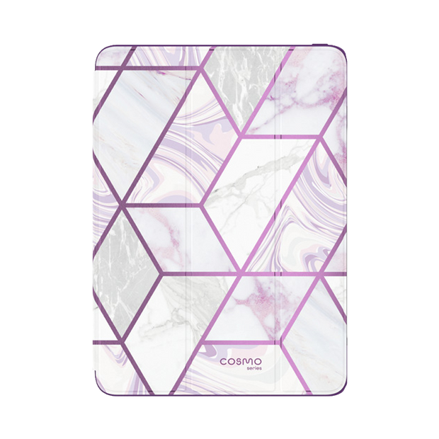 iPad Air 3 10.5 inch (2019) Cosmo Case-Marble Purple