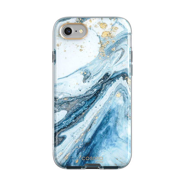 iPhone 8 | 7 Cosmo Case-Marble Blue