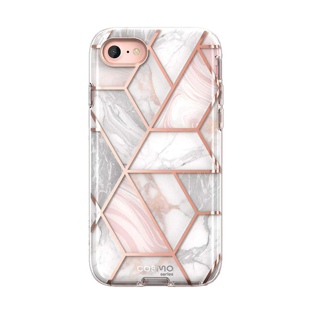 iPhone SE (2020) Cosmo Case-Marble Pink