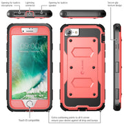 iPhone 8 | 7 Armorbox Case-Pink