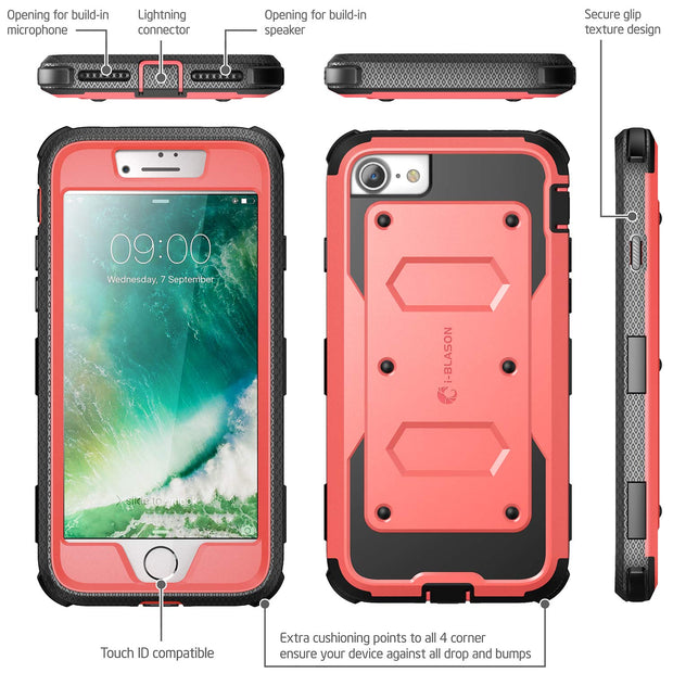 iPhone SE (2020) Armorbox Case-Pink
