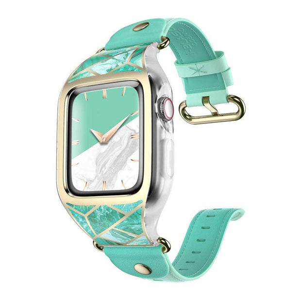 Apple Watch 5 I 4 44mm Cosmo Case-Marble Green