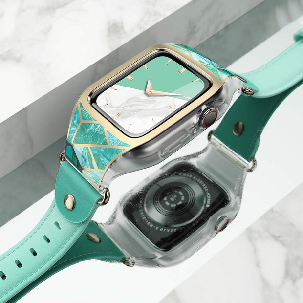 Apple Watch 6 | 5 | 4 | SE 44mm Cosmo Case-Marble Green
