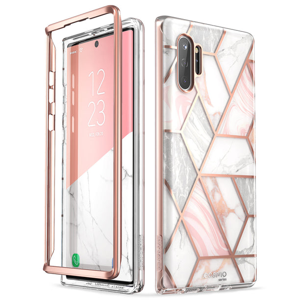 Galaxy Note10 Plus Cosmo Case - Marble Pink