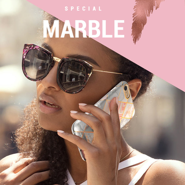 iPhone 8 | 7 Cosmo Lite Case-Marble Pink