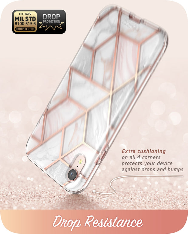 iPhone XR Cosmo Case-Marble Pink