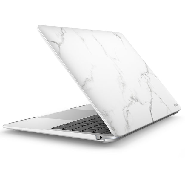 MacBook Air 13 (2018) Cosmo Case-Marble white