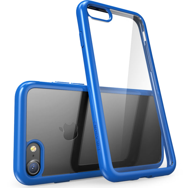 iPhone 7 Halo Case-Clear/Navy