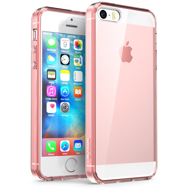 iPhone SE Halo Clear Case - RoseGold