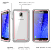 Samsung Galaxy J7 (2018) Ares Case-Pink