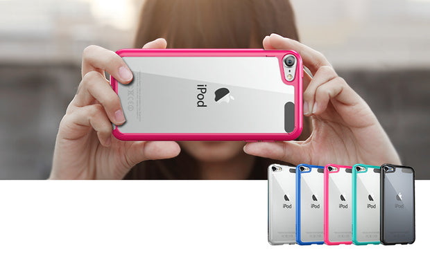 iPod Touch 6th Gen Halo Case-Pink