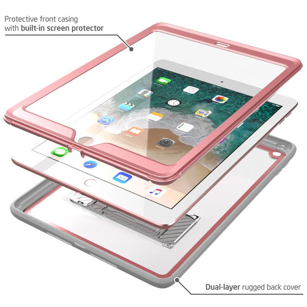 iPad 9.7 inch (2017 & 2018) Ares Case-Rose Gold