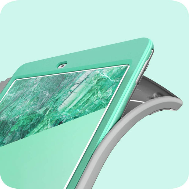 iPad 10.2 inch (2019 | 2020) Cosmo Case-Marble Green