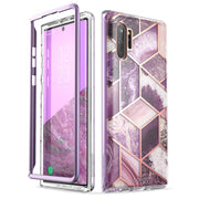 Samsung Galaxy Note10 Plus Cosmo Case-Marble Purple