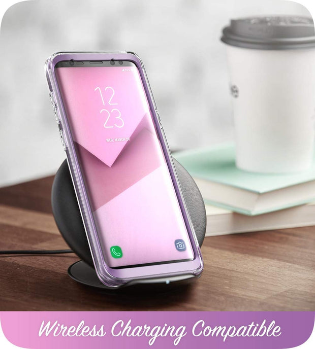 Samsung Galaxy S9 Plus Cosmo Case - Glitter Purple