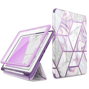 iPad 10.2 inch (2019) Cosmo Case-Marble Purple