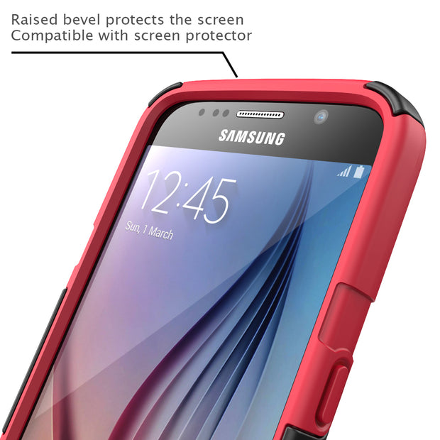 Samsung Galaxy S6 Prime Case-Red