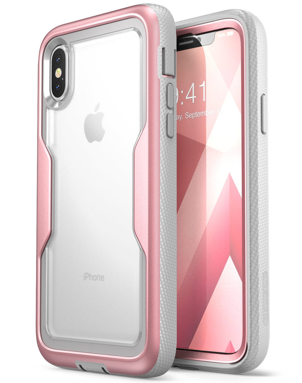 iPhone XS | X Magma Case-Rose Gold