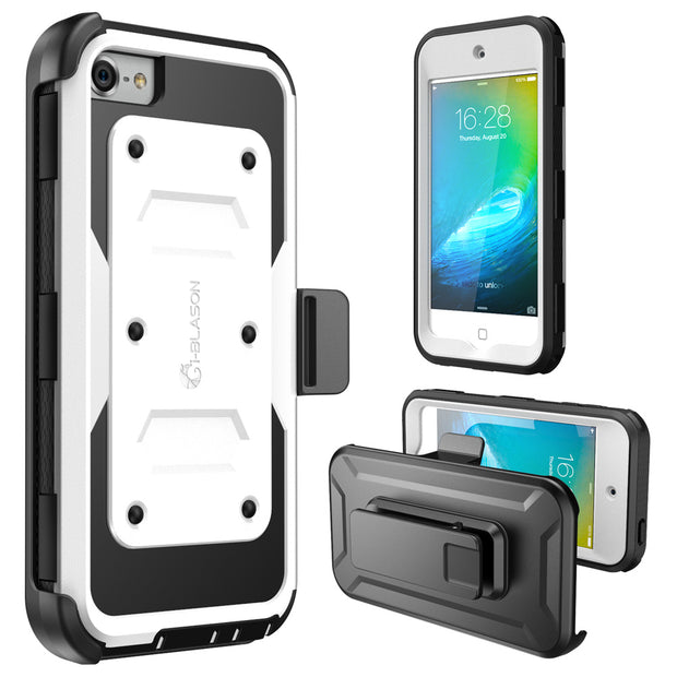 iPod Touch 6th Gen Armorbox Case-White