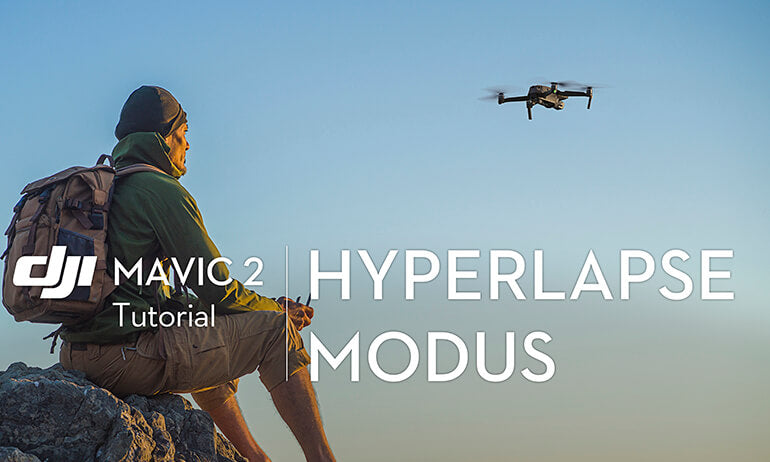 Mavic 2 Series Tutorial - How to use the Mavic 2's Hyperlapse Mode