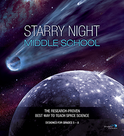 Starry Night Middle School Binder