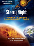 Starry Night Complete Space & Astronomy Pack 8