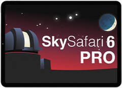 SkySafari 6 Pro for Android, iOS & macOS
