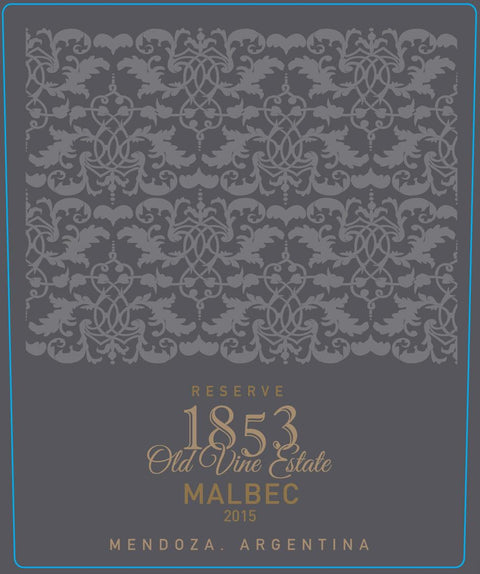 1853 Old Vine Estate Reserve Malbec (2016)