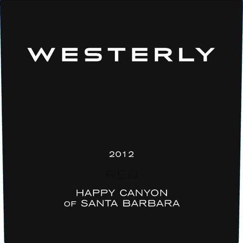 Westerly Red Blend (2012)