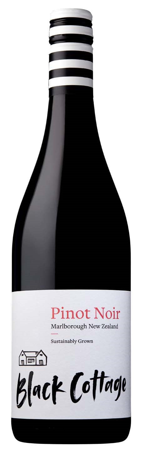 Black Cottage Pinot Noir, Marlborough, New Zealand