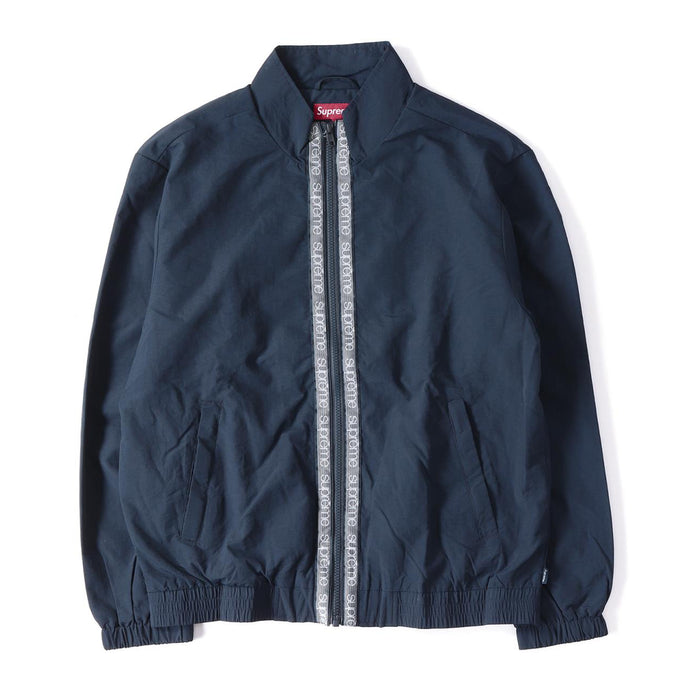 Supreme Classic Taping Track Jacket - Navy